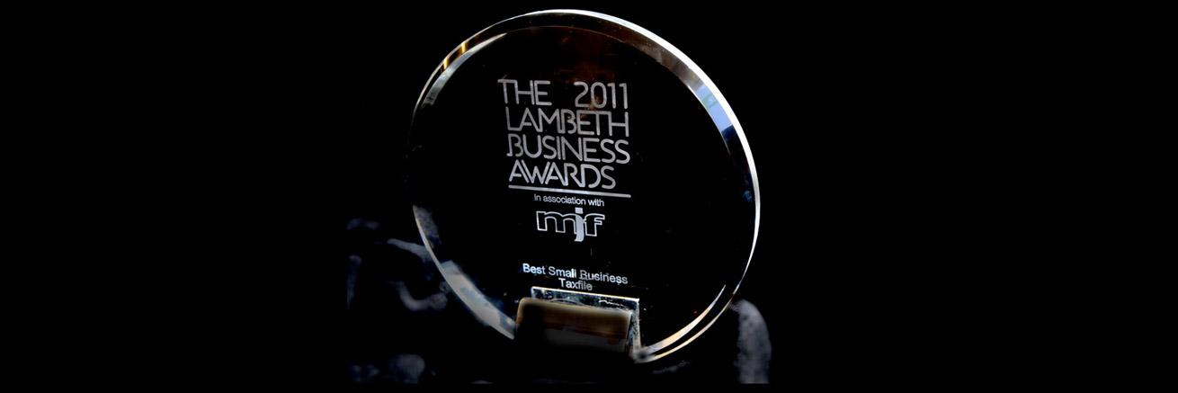 WINNER of the Best Small Business category in the annual Lambeth Business Awards (2011).