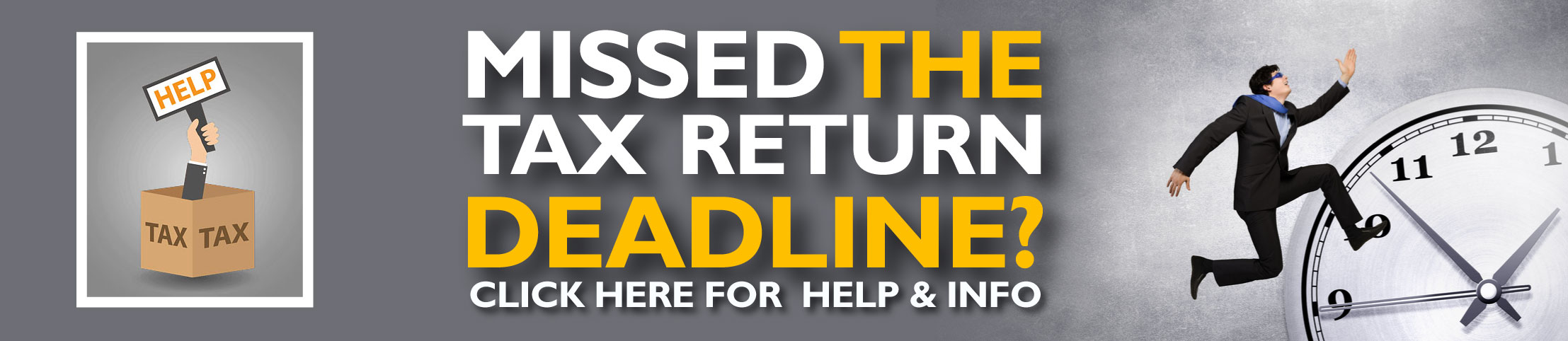 Missed the Self-Assessment tax return deadline? Now what?