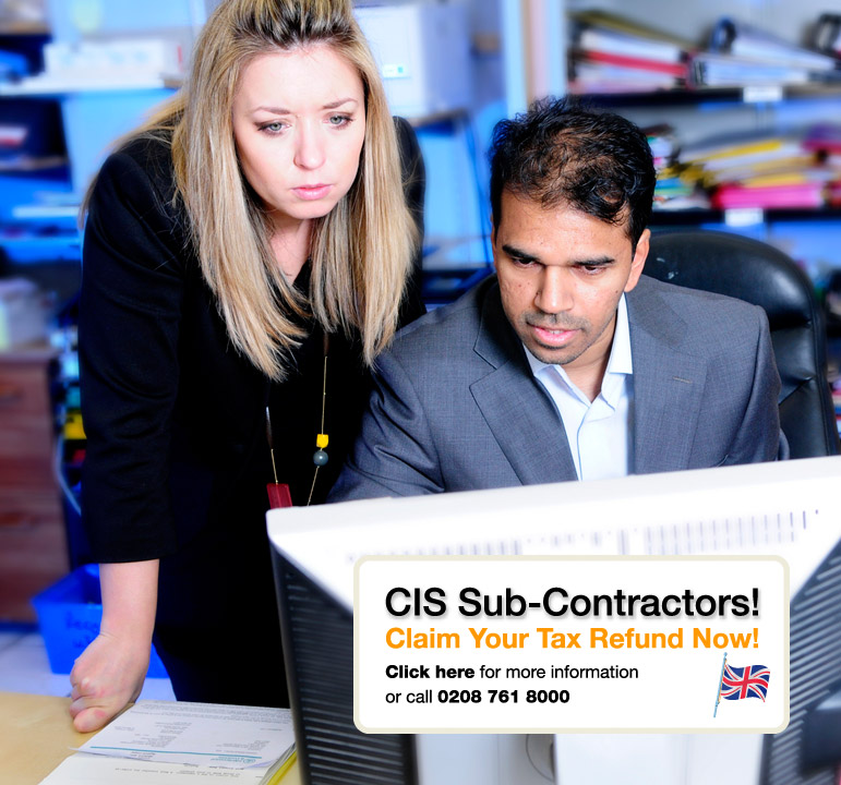 CIS Sub-Contractors - Claim your tax refund now