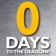 TODAY is the deadline for submission of your tax return. Contact Taxfile for help filing & avoid a minimum £100 fine!