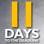 11 days until the self-assessment tax return deadline