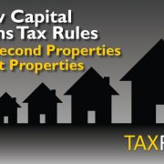 Capital Gains Tax Rule Changes for 2nd properties and property rentals