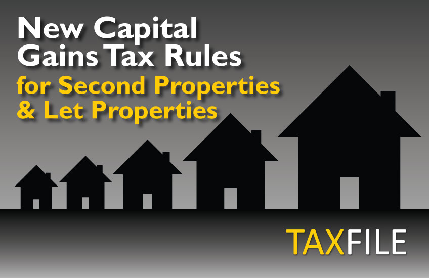 New Capital Gains Tax rules for 2nd properties and property rentals