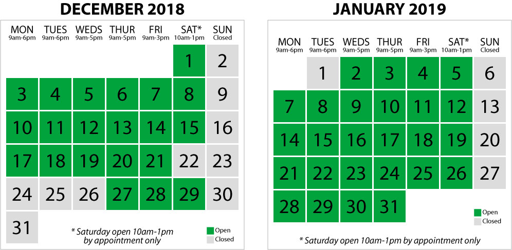 Christmas & New Year Opening Times at Taxfile