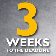 3 weeks to the Self-Assessment tax return deadline!