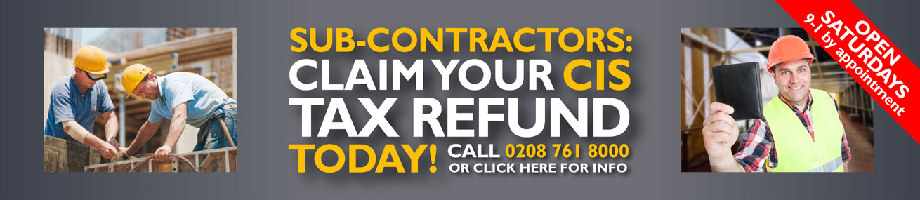 Subcontractor? Claim your CIS tax refund!
