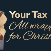 Your Tax Return - All Wrapped Up for Christmas!