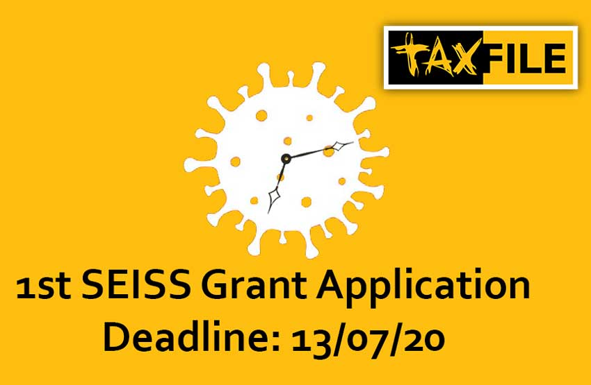 First SEISS Grant Application Deadline Day Looms