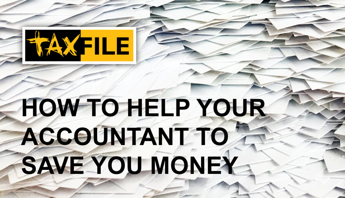 How to help your accountant save you money