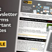 Latest e-Newsletter Confirms Important Updates
