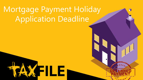 Mortgage Holiday Deadline Looming
