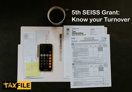 5th SEISS Grant - how to claim