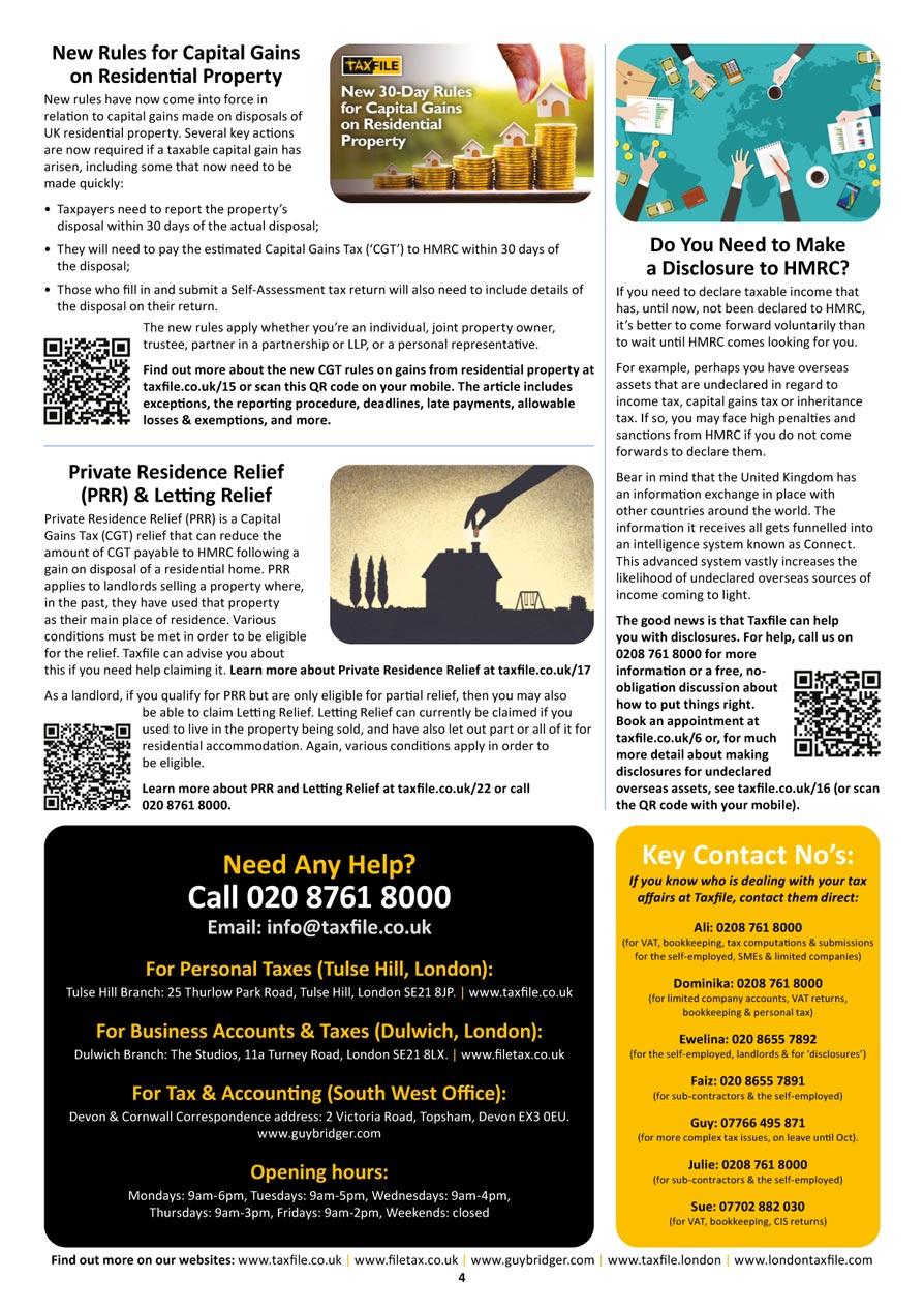Autumn Newsletter, page 4