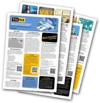 Our tax and accountancy-related newsletter is available as a PDF download too